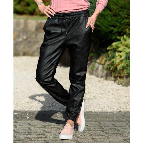 Gumis derekú bőrhatású nadrág (S-XL)