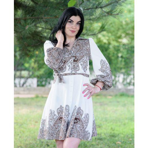 Mandala barna mintás ruha (M-L)