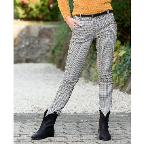 Kockamintás vászon nadrág (S-XL)