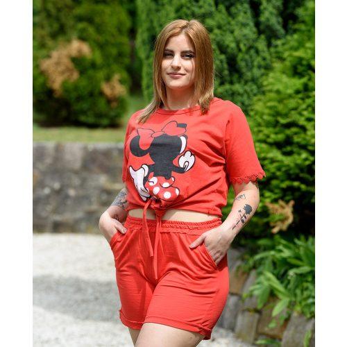 Minnie piros szabadidő szett (S-L)